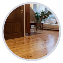 How to finish pine floors