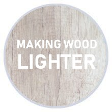 How to make wood lighter colour